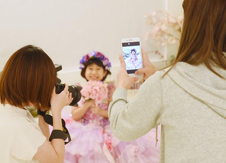 写真撮影までの流れ 撮影 沖縄写真撮影